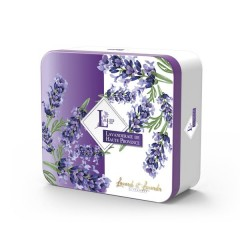 Lavanderaie de Haute Provence kinkekarp 100g lavendli seep ja 18g kotike lavendli ja lavandiniga