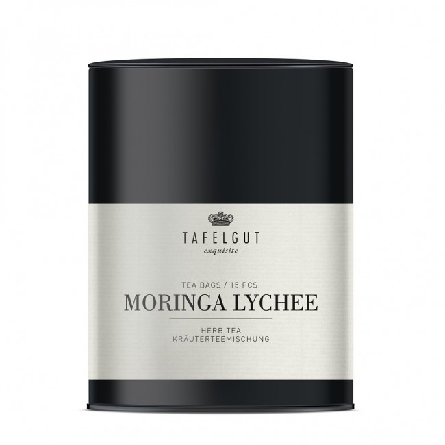 Tafelgut  tee Moringa ja litšiga 38g, 15 teepakki