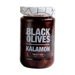Nicolas Vahe Mustad Kalamon oliivid 355g./215g